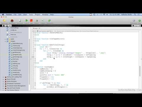 Mobile Game Development With Corona SDK | Building The Game - Part 1