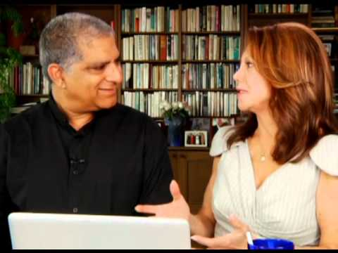 Deepak Chopra With Marlo Thomas