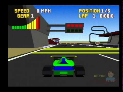 Captivating Checkered Flag Atari Jaguar Gameplay (Atari Corp) First Impression