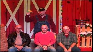 On stage at Comedy Barn in Pigeon Forge, TN!