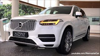 Volvo XC90 Excellence Lounge T8 Twin Engine AWD PHEV 2019 | Real-life review
