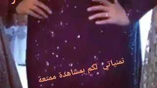 ab0e3408a أفضل وأجمل فساتين سوارية باللون الاحمر والنبيتي2019🌹موديلات جديدة  #بيت_العز ...