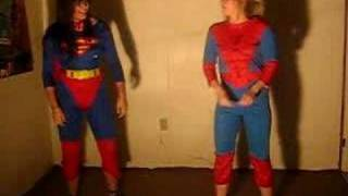 Crank That Superman vs Spiderman