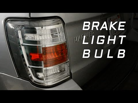 Mercury Mariner Brake Light Bulb Replacement