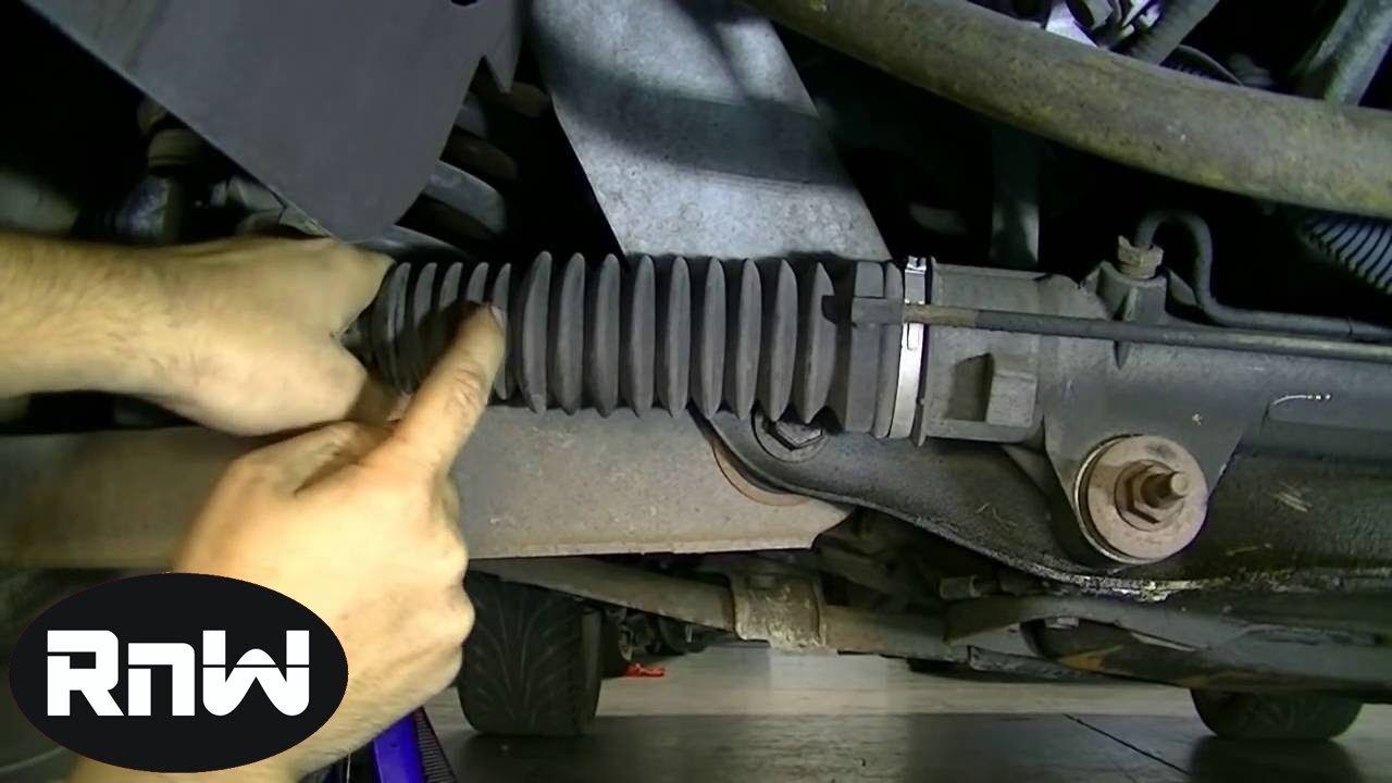how to test and inspect the inner and outer tie rod ends on your car [ 1280 x 720 Pixel ]
