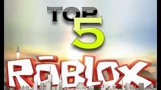 Top 5 Cool Roblox Games!!! Recommended