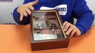 Видеообзор ключницы настенной деревянной «Кот ученый»