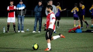 Mecz drugiej kolejki Ostrołęckiej Ligi Piłki Nożnej