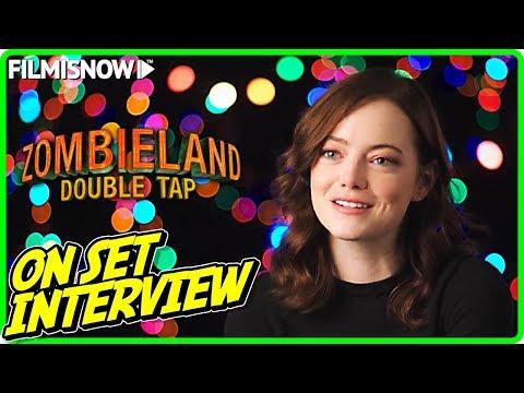 "ZOMBIELAND: DOUBLE TAP   Emma Stone ""Wichita"" On-set Interview"