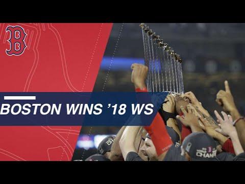 Sale K's Machado, Red Sox win the 2018 World Series