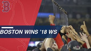 Sale K's Machado, Red Sox win the 2018 World Series