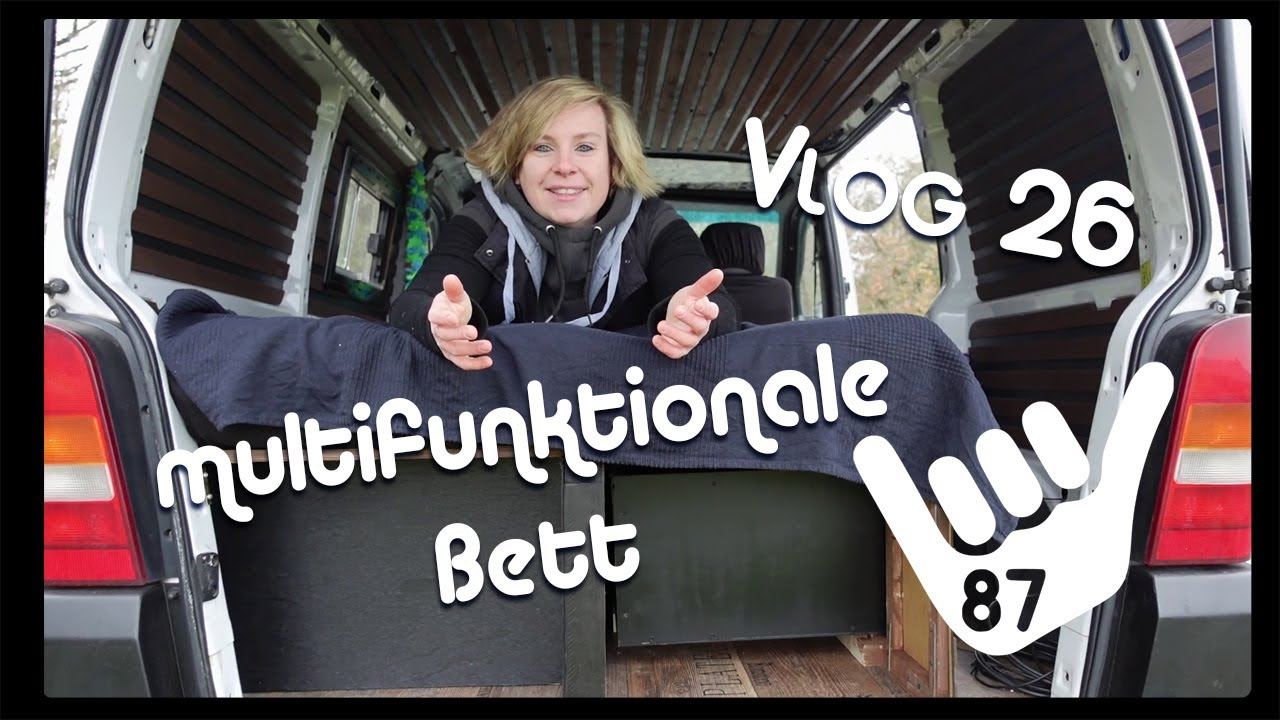 Vito Camper Multifunktionale Bett Camperbett Ausziehbett Youtube