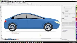 CorelDraw Tutorial: Draw a Flat Car