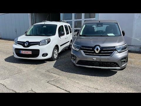 Сравнение  Renault Kangoo 2021 и Renault Kangoo 2016
