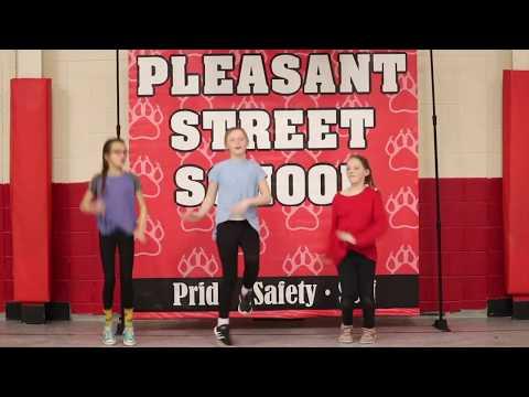Firework Dance, PE with Mrs. G, Pleasant Street School