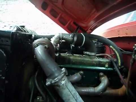 Ford O Com Motor Om352 E Coletor Do Om1618 Youtube