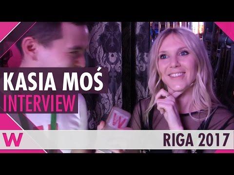 Kasia Moś (Poland 2017) Interview   Eurovision Pre-Party Riga 2017