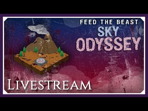 FTB Sky Odyssey   IC2 & Tech Reborn Tungstensteel!   FTB Sky