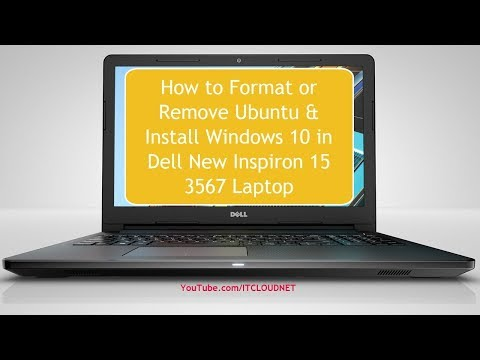 how-to-format-or-remove-ubuntu-&-install-windows-10-in-dell-new-inspiron-15-3567-laptop