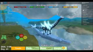 Roblox Dinosaur Simulator-Dinosaur Bus Station + Growing Moon Bringer Puertasaurus
