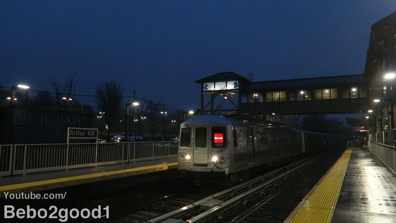 Staten Island Railway: A Look At The New Arthur Kill Train
