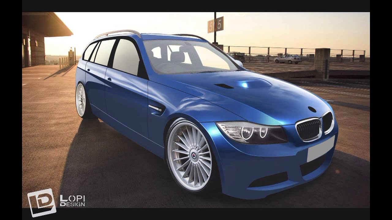 virtual tuning bmw e91 by lopi youtube. Black Bedroom Furniture Sets. Home Design Ideas