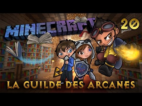 Minecraft - Rosgrim - La Guilde des Arcanes - Ep 20 - Wither Squelette