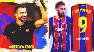 WOW! BARCELONA WILL DO IT! XAVI - NEW MANAGER and NEYMAR - the MAIN TRANSFER of summer 2021!?