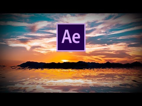 Animate Realistic looking water In After Effects