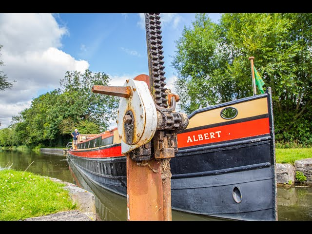 Albert navigates the Kennett & Avon Canal
