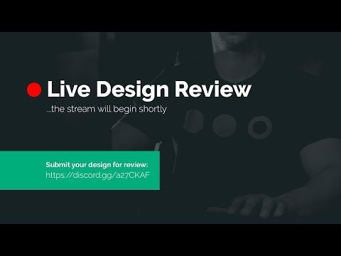 Live Design Review - Gary Reviews Your Design! #18