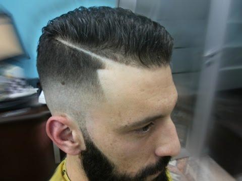 cortes cabelos masculinos   studio 3   helinho   razorpart   sidepart