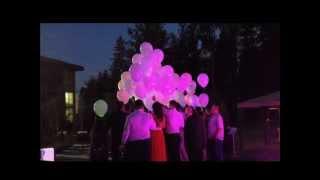 Светодиодные шары купить, светяшки на свадьбе.