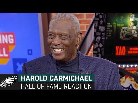 Harold Carmichael Reacts To Pro Football Hall Of Fame Election | Philadelphia Eagles