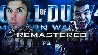 AQUI ESTAMOS! #MaratonWillysTaXx   Modern Warfare: Remastered