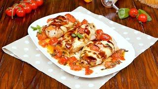 Курица «Капрезе» - Рецепты от Со Вкусом