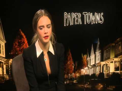 Кара Делевинь об участии в «Бумажных городах» | Cara Delevingne on Paper Towns