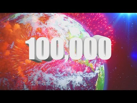 """100,000 """"Sumscribers"""" (Youtube Subscribers) Celebration Video by Kinder Playtime!"""