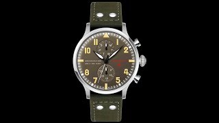 RELOJ DE AVIADOR TYPE 1 EDDIE RICKENBACKER video
