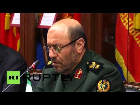 Russia: Iranian and Russian Ministers of Defence meet in Moscow for talks