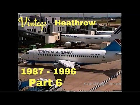 A Day at the Queens Building - Heathrow Airport & GATWICK TOO! 1987 - 1996) Part 6