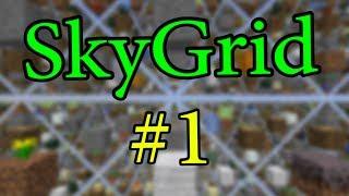 Lp. SkyGrid #1 - Нестандартное выживание!