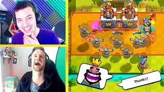THE DREAM TEAM IS BACK (Clash Royale Nickatnyte & Molt)