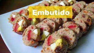 EMBUTIDO RECIPE | HOW TO COOK PORK EMBUTIDO | EMBUTIDO