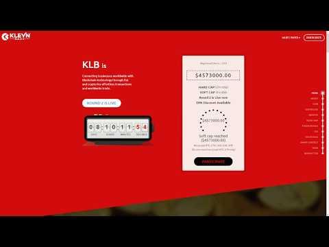 Kleynbank - соединение бизнеса по всему миру с технологией блокчейн.