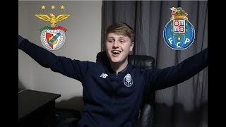 SL BENFICA 0 - FC PORTO 1 - MATCH REACTION + DRINKING GAME!