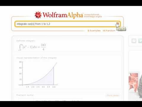 wolfram alpha integral definida espa ol youtube. Black Bedroom Furniture Sets. Home Design Ideas