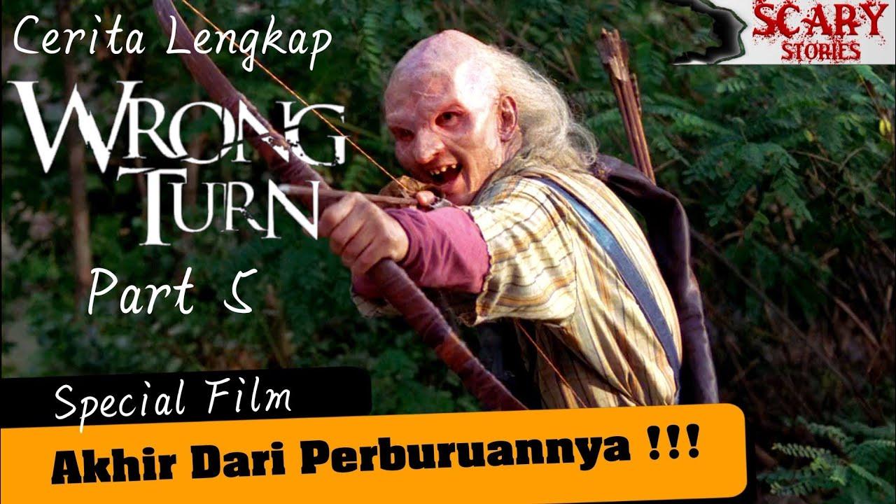 AKHIR Dari PERBURUANNYA !!!! Alur Cerita Wrong Turn Part 5 #Scaryfilm