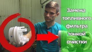 как не попасть на топливный насос? Замена топливного фильтра тонкой очистки в баке.  Видеолекция#2