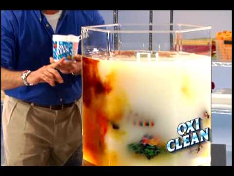original billy mays oxiclean ad from october 2000 youtube